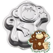 GORILLA Wilton novelty birthday cake tin pan sugarcraft FREE UK P&P