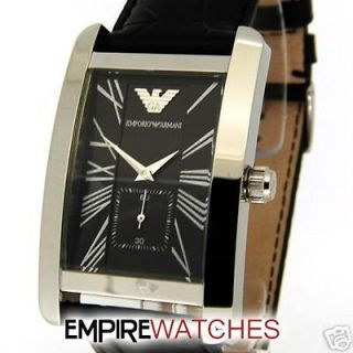 NEW** MENS EMPORIO ARMANI LARGE FACE WATCH   RRP £175