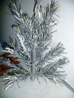 Vintage ALUMINUM SPECIALTY COMPANY 2 FOOT CHRISTMAS TREE Very Nice