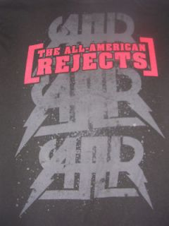 2009 ALL AMERICAN REJECTS AAR ROCK BAND TOUR SHIRT