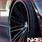 20 AUDI B8 S5 ROHANA RC20 MATTE BLACK CONCAVE WHEELS RIMS