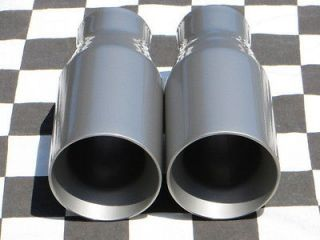 Polished Stainless Camaro Slant Style Exhaust Tip 2 1/2 8X2 1/4 Out