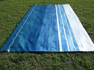 RV Awning Replacement Fabric 15 ft Sky Blue A&E #17