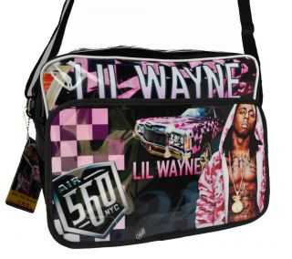 Lil Wayne Hip Hop Postman Laptop Carry Bag (04)