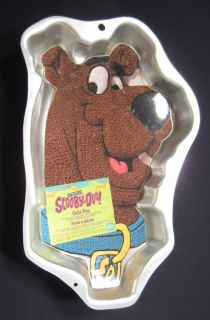 Wilton Scooby Doo Cake Pan Baking Mold 2105 3206 1999 Hanna Barbera