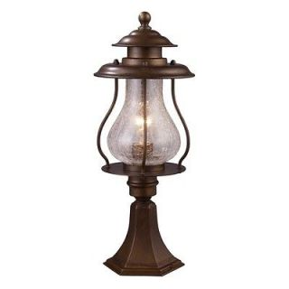 Landmark 1 Light Sm Outdoor Nautical Post Lamp Lighting Fixture