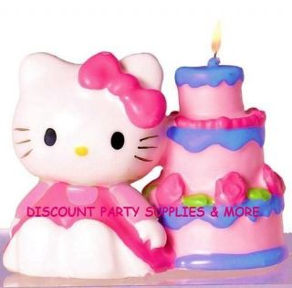 Hello Kitty Balloon Dreams Birthday Party Candle
