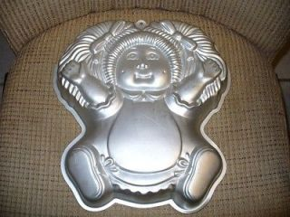 Cabbage Patch Kids Wilton Cake Pan Doll Mold Birthday
