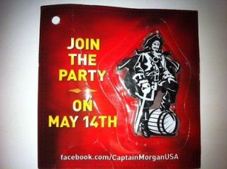Morgan Rum Pirate Happy Birthday Candle Cake Decoration Topper NIP