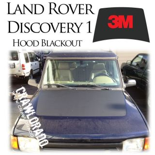Land Rover Discovery 1 Hood Blackout Decal Sticker Disco (Fits Land