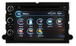 TLN AUTOPARTS Ford Mustang 05 09 GPS Navigation Radio