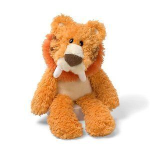 Gund Scruffy Friends 35cm Caleb the Sabre Tooth Tiger CUDDLY SOFT TOY
