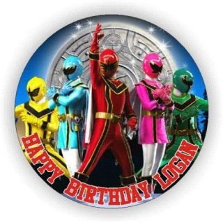 POWER RANGERS MYSTIC FORCE EDIBLE ICING CAKE TOPPERS