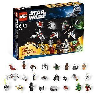 NEW in BOX LEGO Star Wars Advent Calendar w/ XMAS Christmas yoda 7958