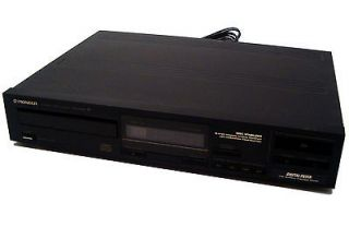 Vintage 1987 Pioneer Compact Single Disc Player PD 4050
