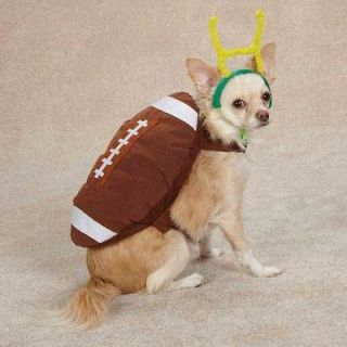 Casual Canine Plush Football Dog Costume Touchdown Hound Halloween Dog