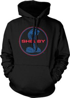 Ford Shelby Cobra Symbol Classic American Muscle Car Mens Hoodie