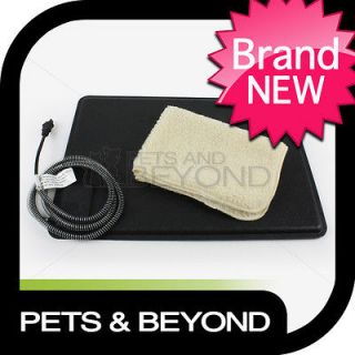 LECTRO KENNEL OUTDOOR INDOOR HEATED DOG OR CAT PET BED/PAD/MAT/WA RMER
