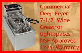 Commercial Countertop Electric Deep Fryer CECILWARE EL6