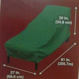 NEW OUTDOOR PATIO HEAVY DUTY CHAISE LOUNGE CHAIR COVER