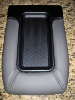 CHEVROLET SILVERADO GMC SIERRA CENTER CONSOLE LID KIT MEDIUM PEWTER