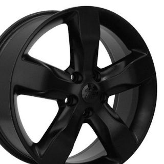 20 Jeep Grand Cherokee Matte Black Overland Wheels Set of 4 OEM 9107