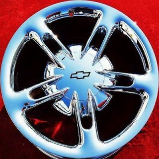 SET OF 4 NEW 19 20 CHEVROLET SSR OEM CHROME WHEELS RIMS YUKON