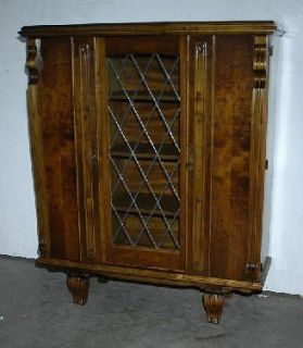 FRENCH ANTIQUE ART DECO VITRINE CURIO CABINET CHINA