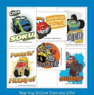 12 Adventures of Tonka Chuck & Friends Temporary Tattoos Party Favors
