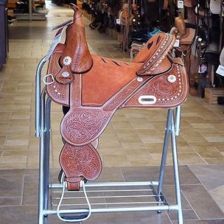 TREELESS WESTERN BARREL RACING TRAIL SADDLE BY Circle Y REGULAR OIL