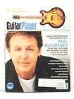 GUITAR PLAYER MAGAZINE PAUL MCCARTNEY BRIAN SELZER RARE