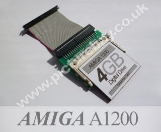 Commodore Amiga A1200 Digital Hard Drive   Fathers Day Birthday Gift.
