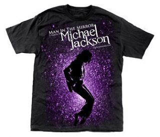 Michael Jackson Tee Shirt , Man In The Mirror