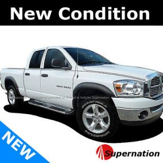 Dod Dodge Ram SUV VIP Side Smooth Primer Unpainted Matte Black Fender