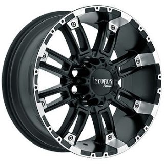 18x9 Black Incubus Crusher Wheels 5x5.5 +12 DODGE RAM 1500 FORD F 150