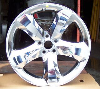 Cladded Chrome Factory Oem alloy wheel for the 2011 Dodge Charger