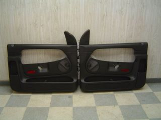 04 06 Dodge RAM 1500 SRT 10 OEM Black Door Trim Panels