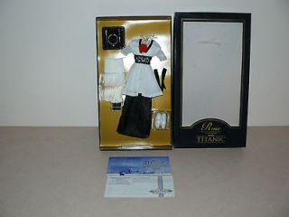 Franklin Mint Titanic Elevator Dress W Certificate of Authenticity