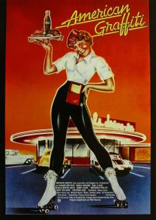 AMERICAN GRAFFITI Movie Poster George Lucas