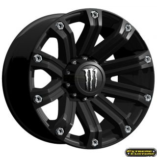 Energy Wheels Ford F150 F250 F350 TIS M34 Matte Black 6 8 Lug Rims