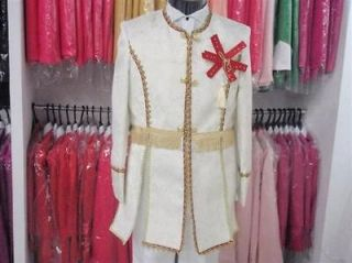 Fashion mens groom clothing dresses suit suits coat+pants White free