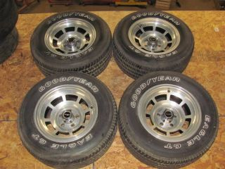 Original Alloy Wheels & Eagle GT Tires Rims 1980 1981 Survivor