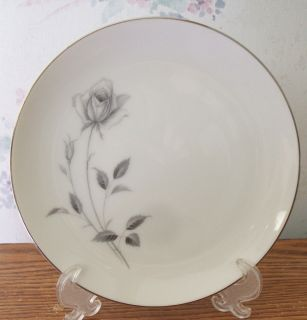 Royal Song Fine China Salad Plate Midnight Rose Japan 5514