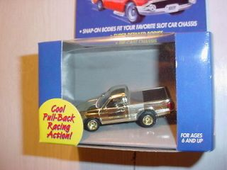 JOHNNY LIGHTNING 1999 THUNDERJET HO SCALE DODGE RAM TRUCK GOLD CHROME