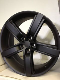 Matte Black Chevrolet Camaro 45th Anniversary Factory OE Wheels Rims