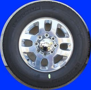 2011 13 Chevy Silverado HD 2500 3500 8 Lug 18 Wheels LT265/70R18