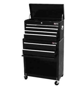 New Heavy Duty 24 Top Chest with Rolling Cabinet Tool Storage Chest