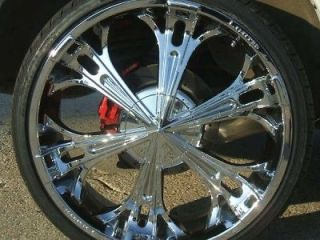 22 INCH RIMS & TIRES WHEELS EXPLORER LIMITED 264 package