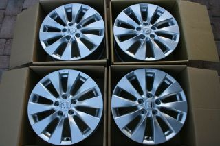 2013 Honda Accord 17 Wheels Rims 4