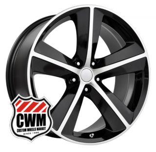 Dodge Challenger SRT8 Style Black Wheels Rims fit Challenger 2008 2013